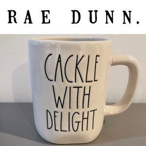 New Rae Dunn Cackle With Delight Mug